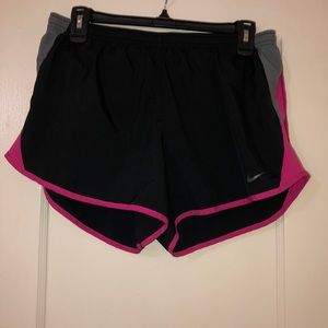 Women's Nike Dri-Fit shorts.